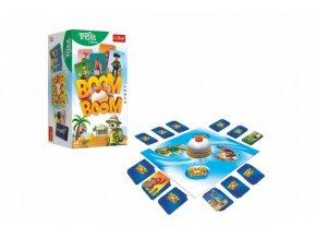 Boom Boom Rodina Trefliků společenská hra v krabici 14x26x10cm