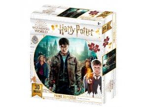 Puzzle 3D Harry, Hermiona a Ron 300 dílků