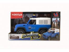 Auto policie terénní 23cm na setrvačník na baterie (skladem)