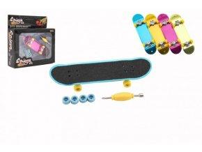 Skateboard prstový šroubovací plast 9cm skladem