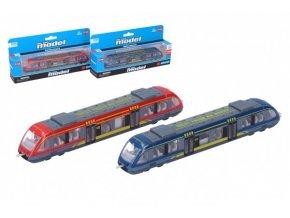 Metro/vlak/tramvaj kov/plast 18cm skladem