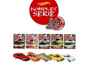 hot wheels japan history 3 JH3 kompletni serie