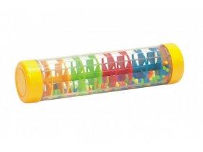 Kuličkový déšť/chrastítko barevné plast 20cm skladem