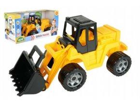 Nakladač žlutočerný Giga Trucks plast 62cm skladem
