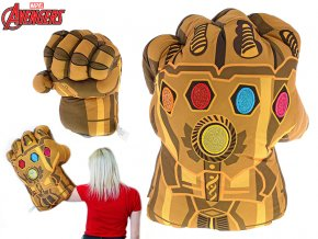 Avengers rukavice plyšová 56cm Thanos 0m+ skladem