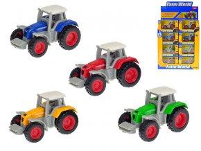Traktor 7cm kov 1:64 volný chod skladem