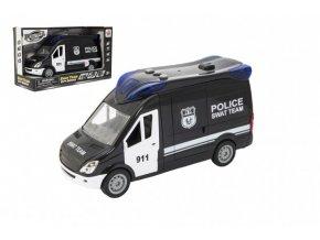Auto policie swat plast 26cm na setrvačník na baterie se zvukem se světlem skladem