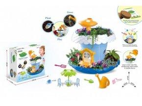 Kreativní sada Pěstování květin plast s doplňky skladem