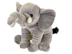 Slon plyšový 26cm sedící skladem