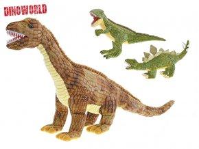 Dinosaurus plyšový 62-73cm skladem