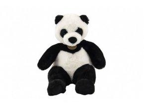 Panda sedící plyš 19x24x19cm 0+