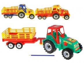 traktor s vlekem 58 cm