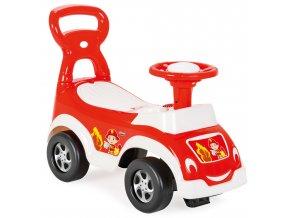 Odrážedlo autíčko pro nejmenší červené