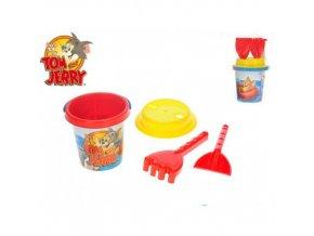 Tom & Jerry - sada na písek - 4 kusy