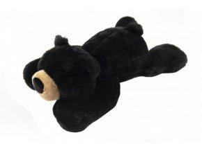 Medvěd černý ležící plyš 30x18x50cm 0+