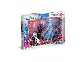 Puzzle Briliant 104 dílků Frozen 2
