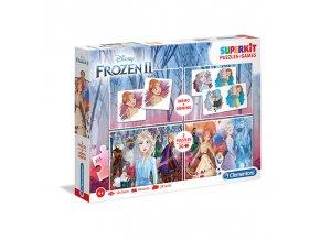 Puzzle Superkit 4v1 dílků Frozen 2