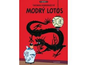 Tintin (5) - Modrý lotos - Hergé