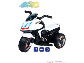 11435 elektricka motorka bayo kick white