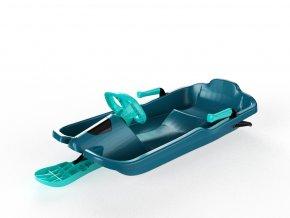 Řiditelný bob Skipper titan modrý