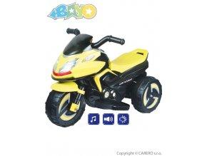 14453 elektricka motorka bayo kick yellow