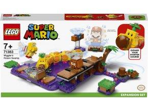 LEGO® Super Mario™ 71383 Wiggler a jedovatá bažina