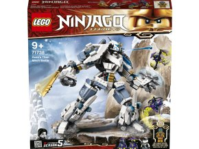 LEGO® Ninjago 71738 Zane a bitva s titánskými robo