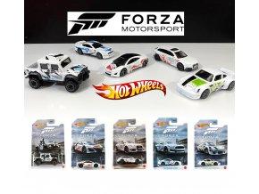 hot wheels forza motorsport kompletni serie 5 auticek audi porsche shelby