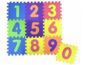 Pěnové puzzle s čísly skladem
