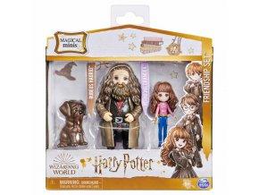 Harry Potter trojbalení přátel Hermiona, Hagrid a tesák
