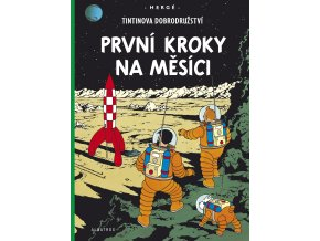 Tintin (17) - První kroky na Měsíci - Hergé