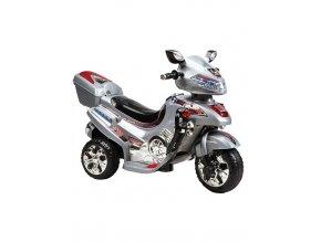 13835 elektricka motorka velka bayo silwer