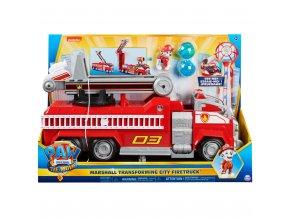 Tlapková patrola velký hasičksý vůz s efekty