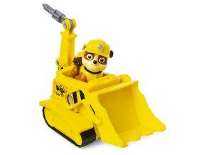 rubble vozidlo transforming buldozer