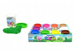 Sada Modelína/plastelína Super Dough 10x55g v kelímku v krabici 27x21x6cm