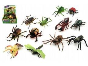 Hmyz plast 20cm asst (1 ks)