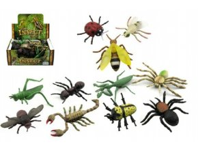 Hmyz plast 13cm asst mix druhů (1 ks)
