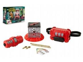 Úniková hra Escape Room Junior na baterie v krabici 38x27x9cm 6+