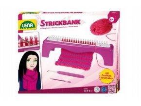 Studio pletení: Pletací stůl + pletení v krabici s doplňky 30x24x7cm 6+