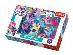 Puzzle My Little Pony 27x20cm 30 dílků v krabičce 21x14x4cm