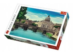 Puzzle Most Holy Angel 1000 dílků v krabici 40x27x6cm