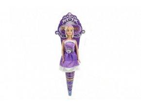 Panenka princezna Anlily plast 28cm kloubová v kornoutu (1 ks)