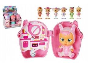 Cry Babies mini Magic Tears plast 11cm miminko ronící slzy v plastové krabičce (1 ks)