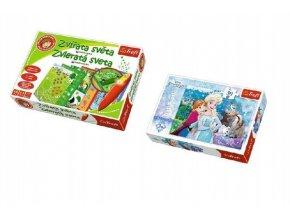 PACK Zvířata světa s magickým perem  + Puzzle 30 dílků grátis (mix obrázků)