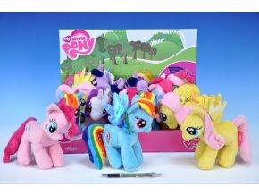 Poník My Little Pony plyš 17cm asst 4 druhy 12ks v boxu 0+