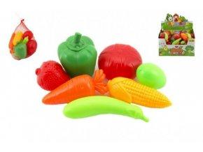 Ovoce a zelenina plast 7ks v síťce (1 ks)