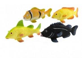 Ryba 20cm plast asst 4 druhů (1 ks)