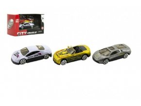 Auto sport kov 6cm asst mix druhů v krabičce