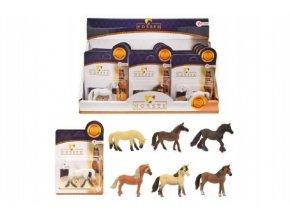 Kůň malý plast 6cm asst mix druhů (1 ks)