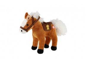 Kůň plyš 20cm asst 2 barvy 0m+